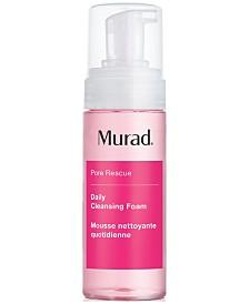 Murad Daily Cleansing Foam, 5.1-oz.