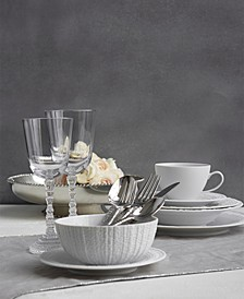 Gotham White Dinnerware Collection