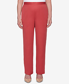 Alfred Dunner Sunset Canyon Pull-On Pants