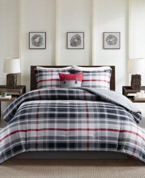 Woolrich Black Forest Reversible 5-Pc. Queen Comforter Set Bedding 6725145