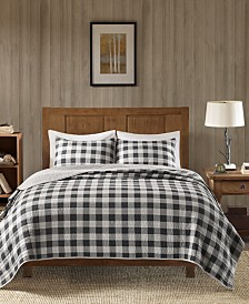 Woolrich Buffalo Check Reversible 3-Pc. Oversized King/California King Quilt Mini Set