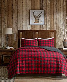 Woolrich Buffalo Check Reversible 3-Pc. Oversized Full/Queen Quilt Mini Set