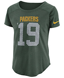 Nike Women's Green Bay Packers Modern Mesh Fan Top