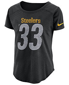 Nike Women's Pittsburgh Steelers Modern Mesh Fan Top