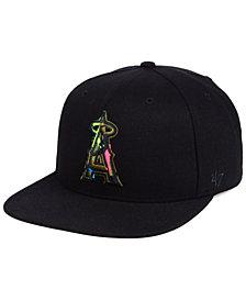 '47 Brand Los Angeles Angels Camfill Neon Snapback Cap