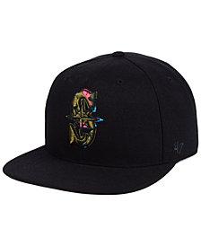 '47 Brand Seattle Mariners Camfill Neon Snapback Cap