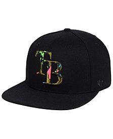 '47 Brand Tampa Bay Rays Camfill Neon Snapback Cap
