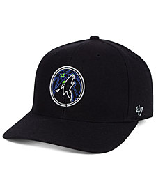 '47 Brand Minnesota Timberwolves After Glow Strapback Cap