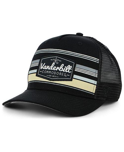 5fe0a215f1a7e9 ... Top of the World Vanderbilt Commodores Top Route Trucker Cap ...
