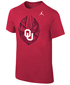 Jordan Oklahoma Sooners Icon T-Shirt, Big Boys (8-20)
