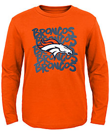 Outerstuff Denver Broncos Graph Repeat T-Shirt, Toddler Boys (2T-4T)