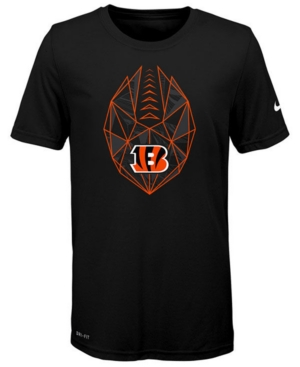 Nike Cincinnati Bengals Football Icon T-Shirt, Big Boys (8-20)