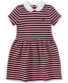 Polo Ralph Lauren Toddler Girls Striped Fit & Flare Dress