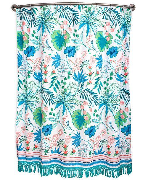 Tropical 72 X Shower Curtain