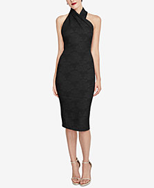 RACHEL Rachel Roy Jacquard Sheath Dress