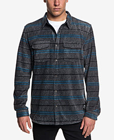 Quiksilver Men's Striped Fleece Shirt