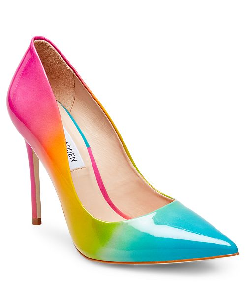 9afce0f5cdb Steve Madden Zaney Rainbow Pumps   Reviews - Pumps - Shoes - Macy s
