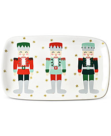 Coton Colors Nutcracker Rectangle Platter
