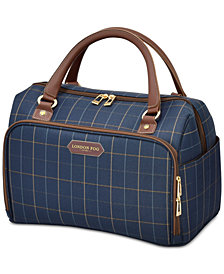 London Fog Bwood 17 Cabin Bag Created For Macy S