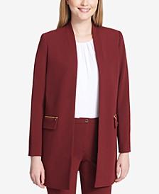 Open-Front Topper Jacket