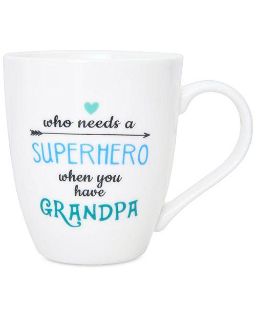 Pfaltzgraff Superhero Grandpa Mug