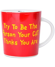 Pfaltzgraff Be The Person Your Cat Thinks You Are Mug