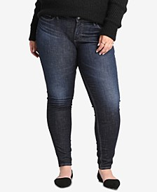 Plus Size Elyse Curvy-Fit Skinny Jeans