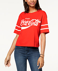 Mad Engine Juniors' Coca Cola Graphic T-Shirt
