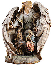 Napco Guardian Angel Bethlehem Scene Figurine