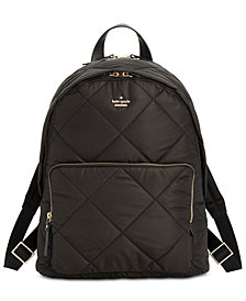 kate spade new york Quilted Tech Large Backpack