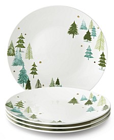 Balsam Lane 4-piece Dinner Plate Set