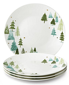 Lenox Balsam Lane Dinner Plates, Set of 4