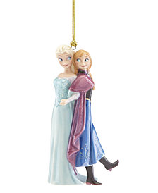 Lenox Disney Frozen Elsa & Anna Ornament