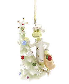 Lenox Greedy Grinch Ornament