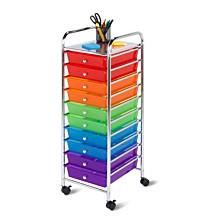 Honey Can Do 10 Drawer Storage Cart