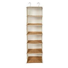 Honey Can Do 6 Shelf Hanging Vertical Closet Organizer