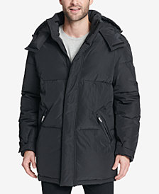 DKNY Men's Hooded Bubble Parka, Created for Macy's