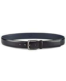 Men's Burnished Bird Leather Belt