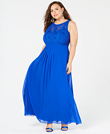 City Chic Plus Size Sleeveless Maxi Dress