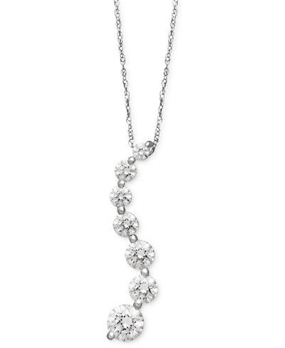 Arabella 14k white gold necklace swarovski zirconia journey pendant arabella 14k white gold necklace swarovski zirconia journey pendant 4 58 aloadofball Image collections
