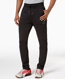 Puma Men's Fleece Cargo Joggers