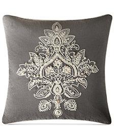 "VCNY Home Katarina Embroidered 18"" Square Decorative Pillow"
