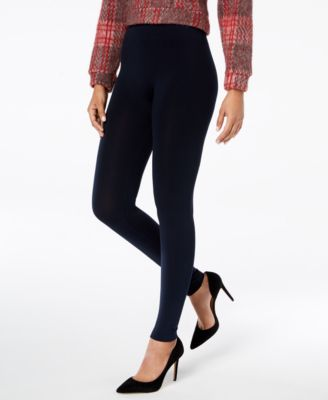 Image of HUE® Brushed Fleece Lined Seamless Leggings