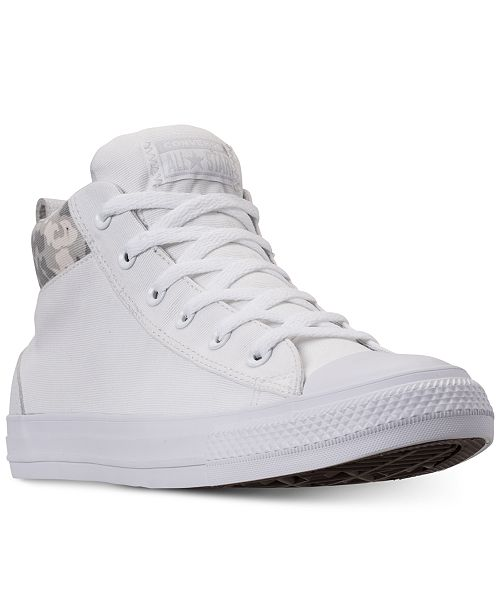 a50a369becc ... Converse Men s Chuck Taylor All Star Street Mid Combat Zone Casual  Sneakers from Finish ...