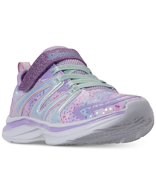 e485d8ab6337 ... Skechers Little Girls  Double Dreams - Unicorn Wishes Running Sneakers  from Finish ...
