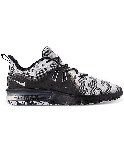 96f5a9f0c52 Nike Men s Air Max Sequent 3 Premium Camo Running Sneakers   Reviews ...