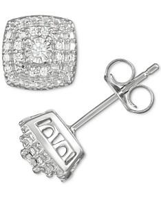 13f6353ff9698 Sterling Silver Earrings: Shop Sterling Silver Earrings - Macy's