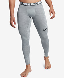 Nike Men's Pro Dri-FIT Heathered Leggings