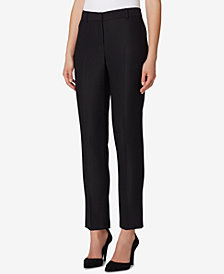 Tahari ASL Straight-Leg Ankle Pants