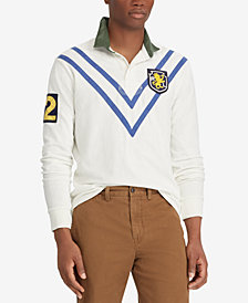 Polo Ralph Lauren Men's Patch Rugby Classic Fit Polo Shirt